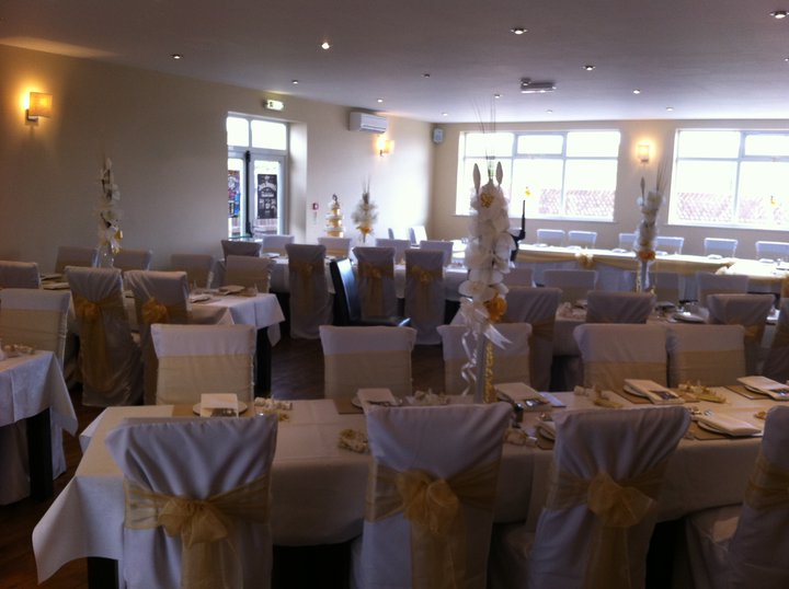 THE FUNCTION ROOM BEAUTIFULLY DECORATED