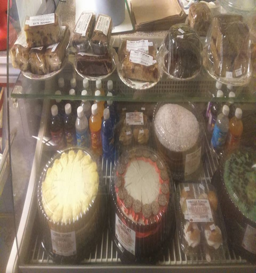 A SELECTION OF CAKES AND TREATS