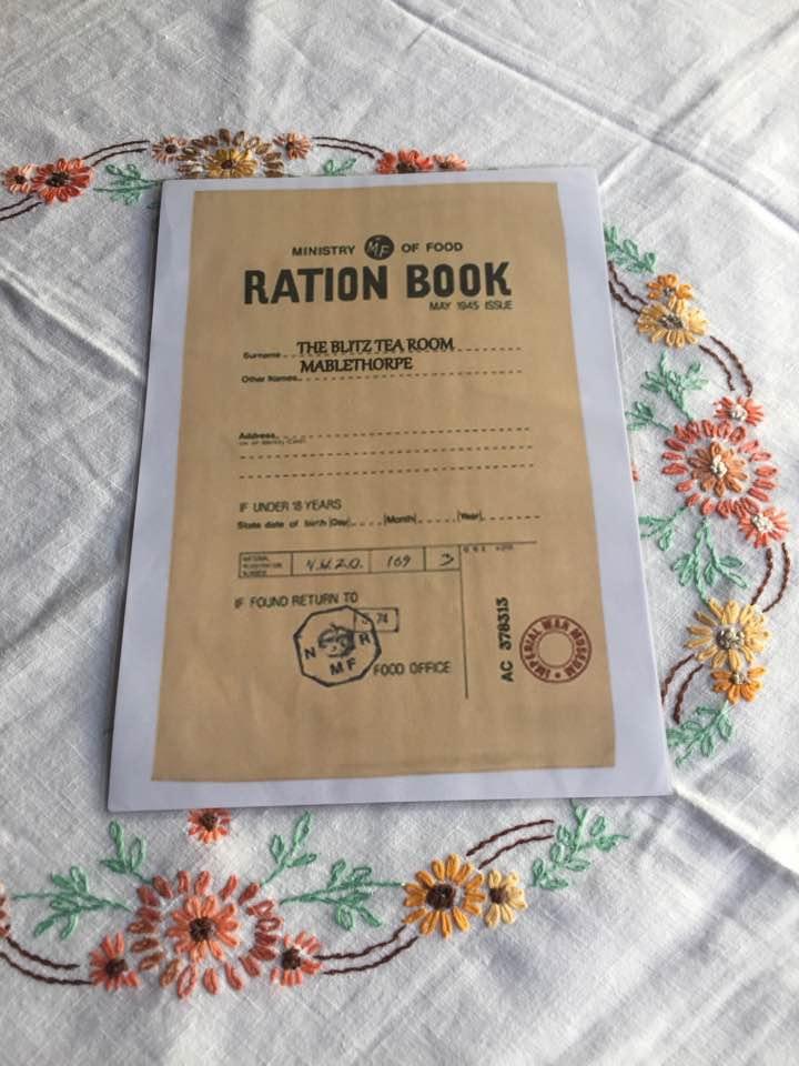 YOUR RATION BOOK MENU