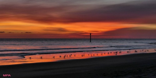 ENJOY A BEAUTIFUL SUNRISE AT MABLETHORPE