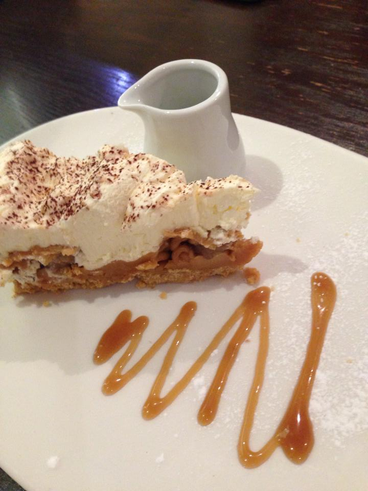 DESSERT IS ON THE HOUSE FOR YOUR BIRTHDAY TREAT