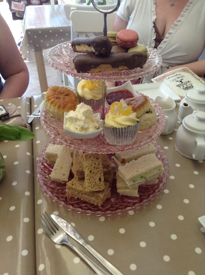 HIGH TEA FOR TWO AT LADY Bs