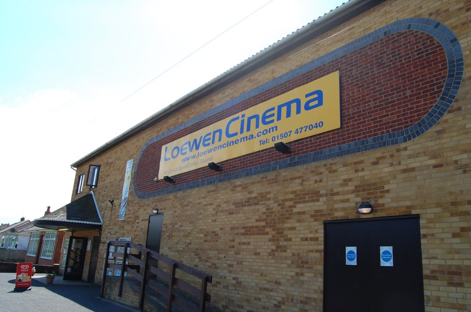 THE LOEWEN CINEMA IN MABLETHORPE