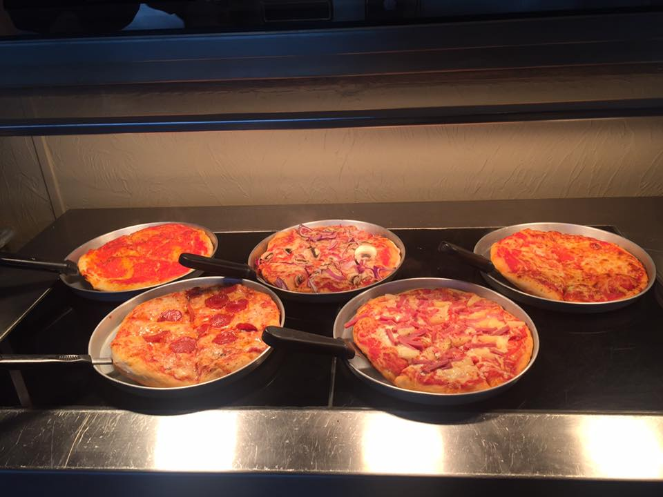 FRESHLY MADE PIZZA READY TO GO