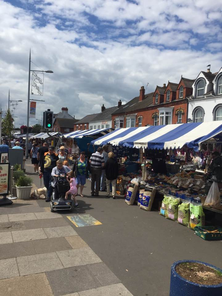 THE HUSTLE AND BUSTLE OF MABLETHORPE MARKET