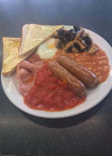 TRY THE BREAKFAST AT THE MATADOR CAFE MABLETHORPE