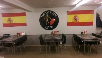 DINE INSIDE AT THE MATADOR CAFE MABLETHORPE