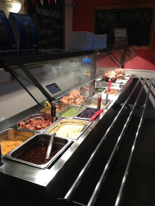 THE CARVERY READY TO GO AT THE BECK IN MABLETHORPE