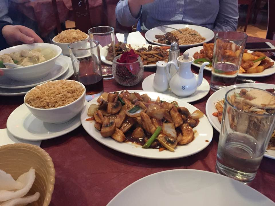 DELICIOUS FOOD AT THE CHINA ROSE