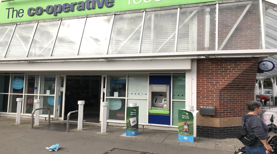 ATM AT MABLETHORPE COOP
