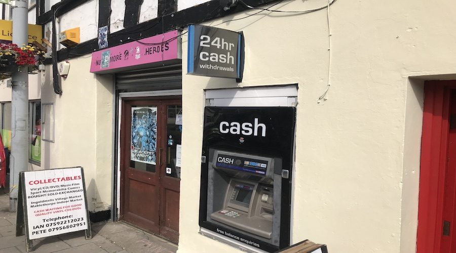 ATM AT TODAY TODAY CONVENIENCE STORE MABLETHORPE