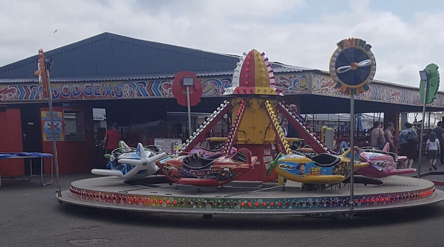 LOTS TO KEEP THE KIDS ENTERTAINED AT MABLETHORPE FUNFAIR