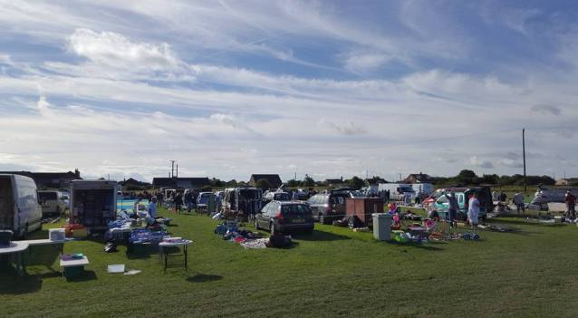 THE CAR BOOT IN TRUSTHORPE