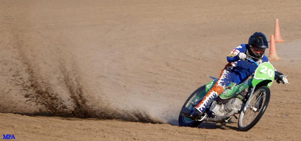 SAND RACING ON MABLETHORPE