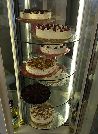 A SELECTION OF THE CHEESECAKES AT LADY Bs