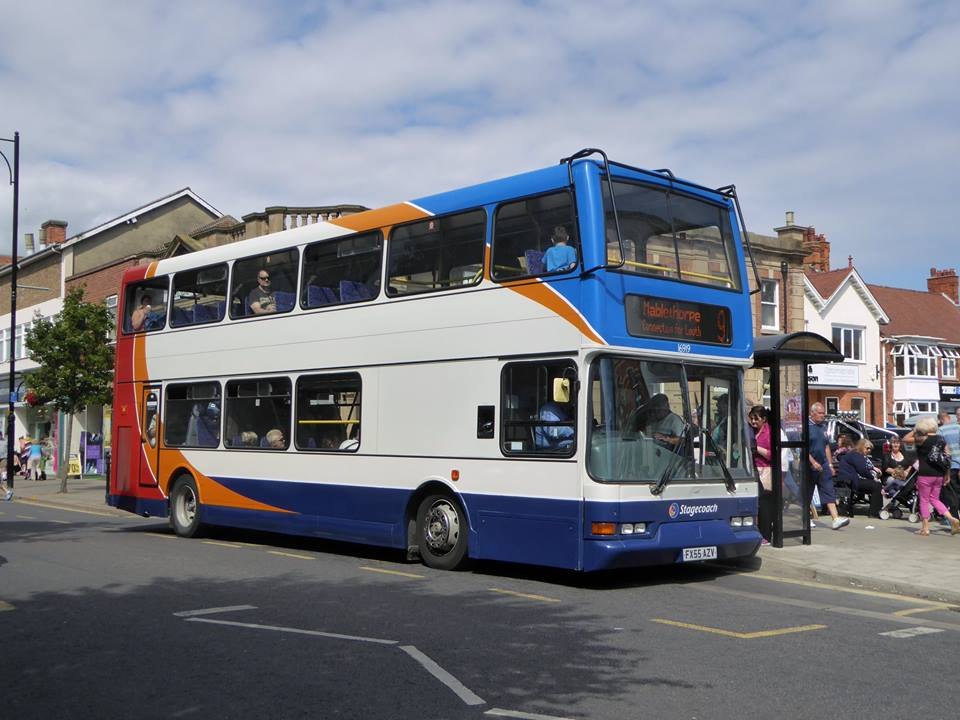 THE NUMBER 9 SERVICE TO MABLETHORPE