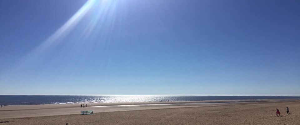 ENJOY THE AWARD WINNING BLUE FLAG BEACH AT MABLETHORPE