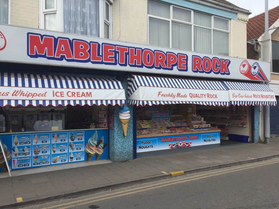 MABLETHORPE ROCK SHOP