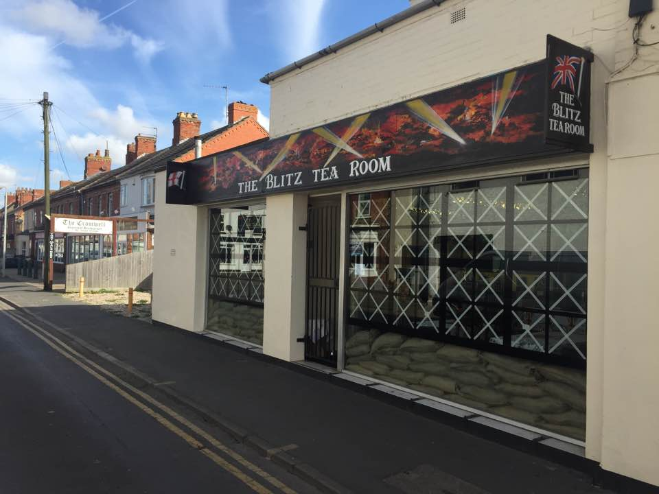 THE BLITZ TEAROOM IN MABLETHORPE