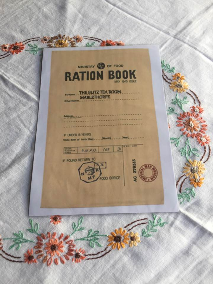 YOUR RATION BOOK MENU