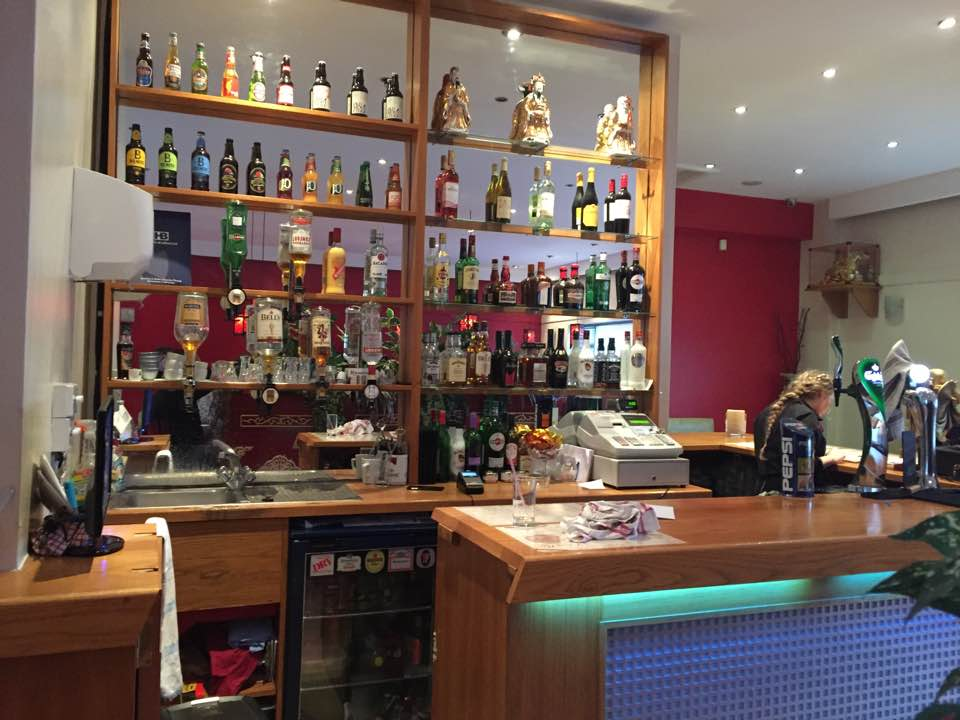 BAR AREA AT THE CHINA ROSE MABLETHORPE