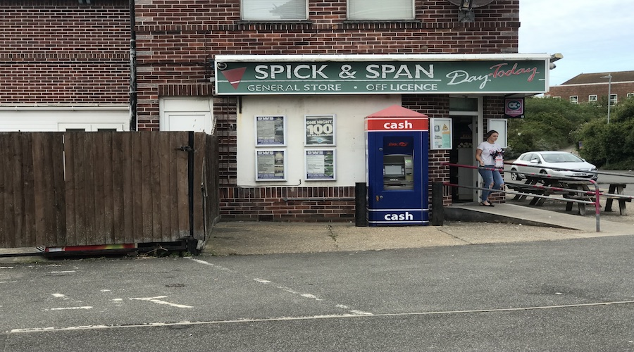 ATM AT SPICK N SPAN CONVENIENCE STORE MABLETHORPE